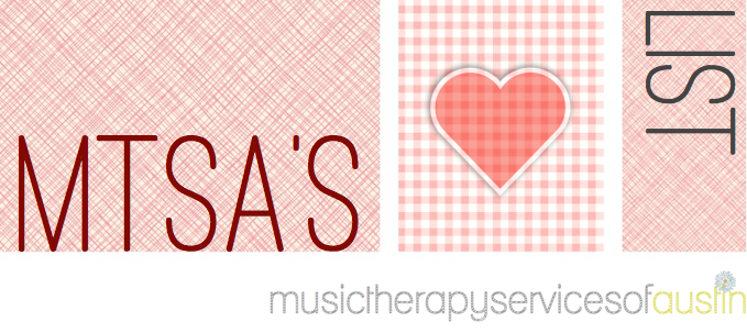 music therapy services of austin love list