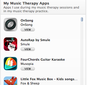 Apps – Music Therapy Services of Austin, LLC